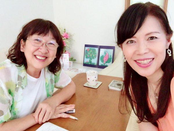 浅井陽子さんと谷口貴子先生